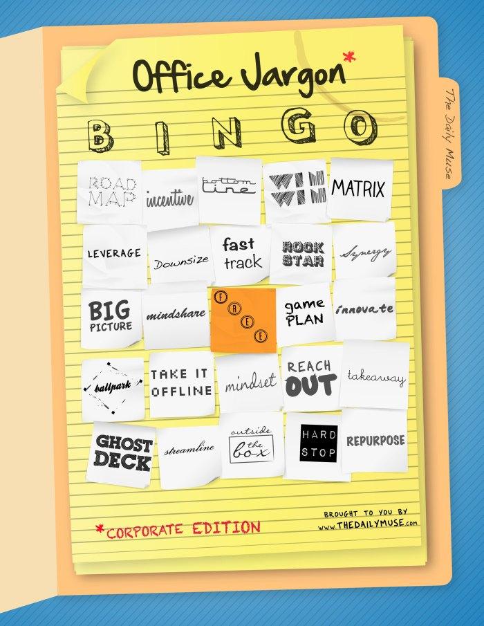 Office Jargon Bingo!