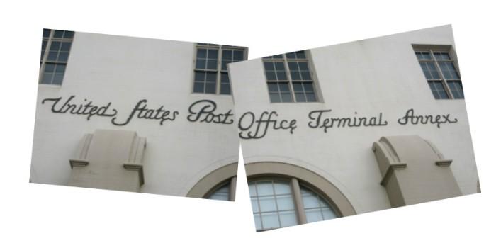 Post Office Typography